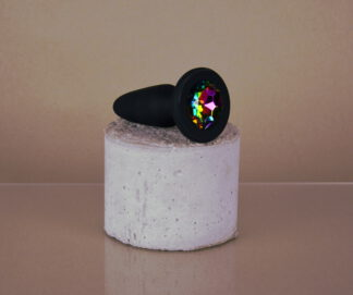 Glams Rainbow Buttplug M