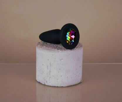 Glams Rainbow Buttplug M