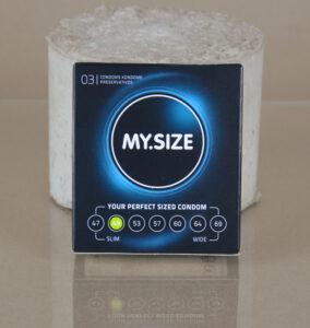 My Size Kondom 3er Packung 49