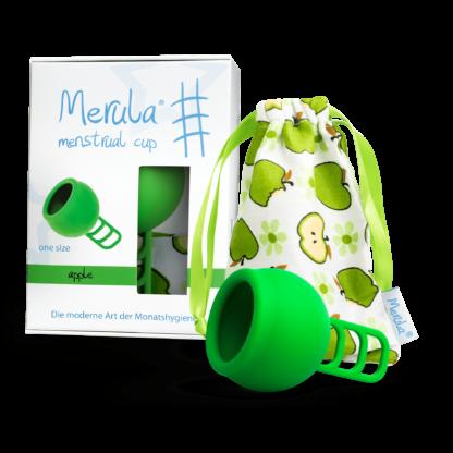 Merula Mooncup Menstruationstasse Grün