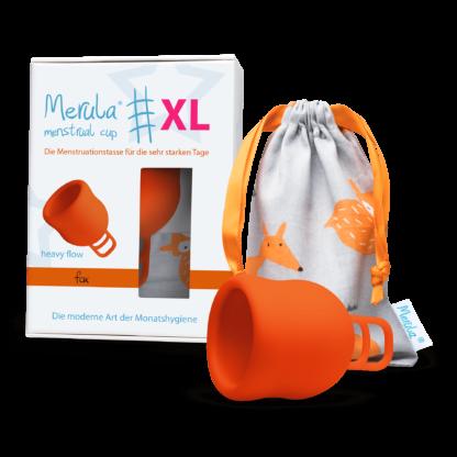 Merula Mesntruationstasse XL Orange