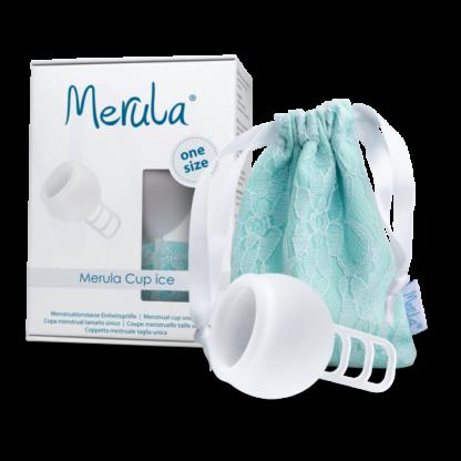 Merula Mooncup menstruationstasse Ice