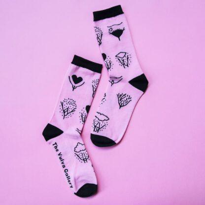 Vulva Gallery Socken